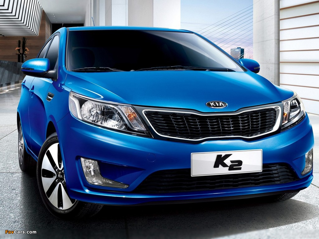 Images of Kia K2 2011 (1024 x 768)