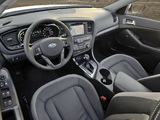 Kia Optima Hybrid (TF) 2011–14 photos