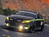 Kia Optima Hybrid USTCC Pace Car (TF) 2011 wallpapers