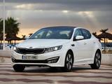 Kia Optima Hybrid EU-spec (TF) 2012–14 pictures
