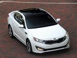 Kia Optima SX Limited (TF) 2012–13 pictures