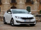 Photos of Kia Optima Hybrid EU-spec (TF) 2012–14
