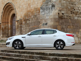 Pictures of Kia Optima Hybrid EU-spec (TF) 2012–14