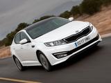 Pictures of Kia Optima Hybrid EU-spec (TF) 2012–14