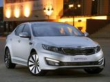 Pictures of Kia Optima ZA-spec (TF) 2012