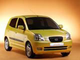 Images of Kia Picanto (SA) 2004–07