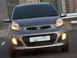 Images of Kia Picanto 5-door ZA-spec (TA) 2011
