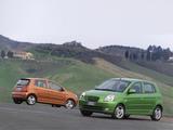 Kia Picanto (SA) 2004–07 pictures