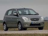 Kia Picanto UK-spec (SA) 2007–09 photos