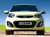 Kia Picanto 5-door UK-spec (TA) 2011 images