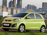Kia Picanto 5-door ZA-spec (TA) 2011 images