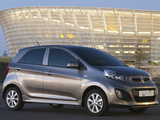 Kia Picanto 5-door ZA-spec (TA) 2011 photos