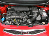 Kia Picanto 5-door UK-spec (TA) 2011 pictures