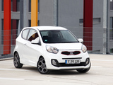 Kia Picanto EcoDynamics 3-door (TA) 2011 wallpapers