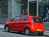 Kia Picanto 5-door UK-spec (TA) 2011 wallpapers