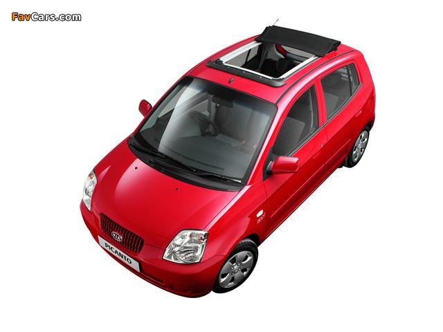 Photos of Kia Picanto Zipp! (SA) 2006 (640 x 480)