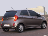 Photos of Kia Picanto 5-door ZA-spec (TA) 2011