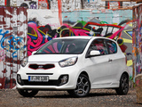 Photos of Kia Picanto EcoDynamics 3-door (TA) 2011