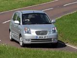 Pictures of Kia Picanto UK-spec (SA) 2004–07