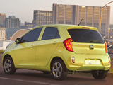 Kia Picanto 5-door ZA-spec (TA) 2011 wallpapers