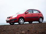 Images of Kia Rio Hatchback (JB) 2005–09