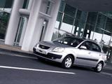 Images of Kia Rio Sedan (JB) 2005–09