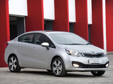 Images of Kia Rio Sedan ZA-spec (UB) 2012