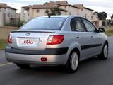 Kia Rio Sedan ZA-spec (JB) 2005–11 images