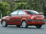 Kia Rio Sedan US-spec (JB) 2005–09 images