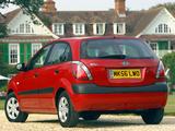 Kia Rio Hatchback UK-spec (JB) 2005–09 images