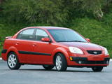 Kia Rio Sedan US-spec (JB) 2005–09 photos
