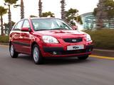 Kia Rio Hatchback (JB) 2005–09 photos