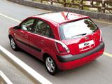 Kia Rio Hatchback (JB) 2005–09 pictures