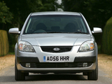 Kia Rio Hatchback UK-spec (JB) 2005–09 wallpapers
