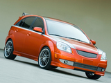 Kia Rio5 Orange Blur (JB) 2005 wallpapers