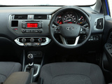 Kia Rio 3-door EcoDynamics UK-spec (UB) 2012 photos