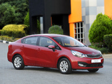 Kia Rio Sedan ZA-spec (UB) 2012 photos