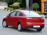 Kia Rio Sedan ZA-spec (UB) 2012 photos
