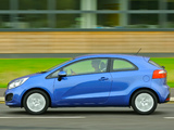 Kia Rio 3-door EcoDynamics UK-spec (UB) 2012 pictures