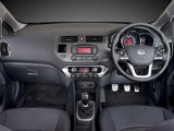 Kia Rio Sedan ZA-spec (UB) 2012 wallpapers