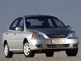 Photos of Kia Rio Sedan ZA-spec (DC) 2002–05