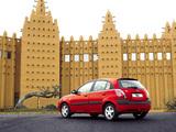 Photos of Kia Rio Hatchback (JB) 2005–09