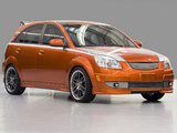 Photos of Kia Rio5 Orange Blur (JB) 2005