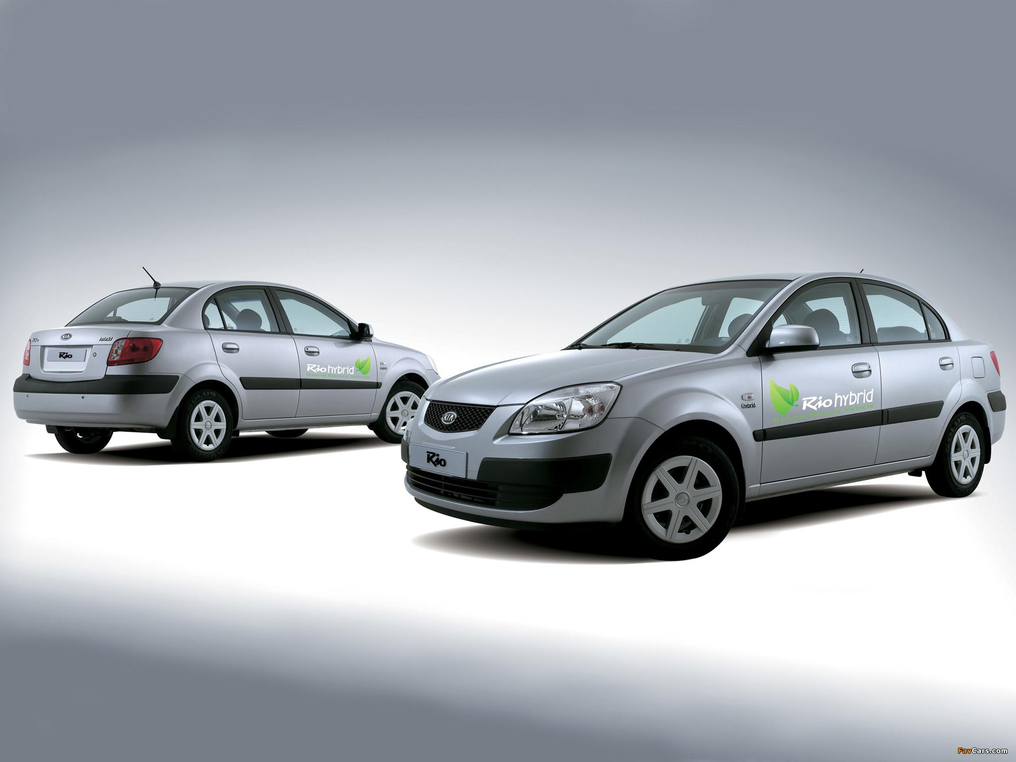Photos of Kia Rio Hybrid (JB) 2007–08 (2048 x 1536)