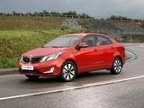 Photos of Kia Rio Sedan CIS-spec (QB) 2011