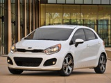 Photos of Kia Rio 5-door US-spec (UB) 2011