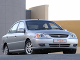 Pictures of Kia Rio Sedan ZA-spec (DC) 2002–05