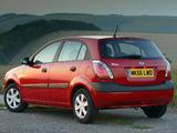 Pictures of Kia Rio Hatchback UK-spec (JB) 2005–09