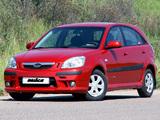 Pictures of Kia Rio Hatchback by Nika (JB) 2005–09