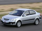 Pictures of Kia Rio Sedan ZA-spec (JB) 2005–11